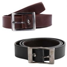 London Fashion Black And Brown Belt for Rs. 69