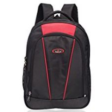 Cosmus Hawking Premium 37 Litre 3 Compartment Large School Bag (Red) for Rs. 849