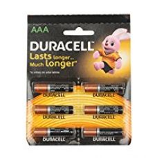 Duracell R 03 AAA Alkaline Long Lasting Batteries (Pack of 6) for Rs. 225