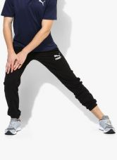 Buy Puma Archive Logo Black Track Pants from Jabong