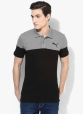Puma Alpha Block Black Polo T-Shirt for Rs. 1299
