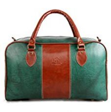 Buy The Clownfish Synthetic 1102 Cms Green Hybrid Travel Duffle from Amazon