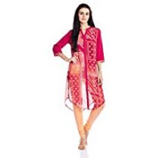 Buy Fusion Beats Women's A-Line Kurta from Amazon