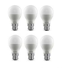 Buy Wipro Garnet Base B22 9-Watt LED Bulb (Pack of 6, Cool Day Light) from Amazon