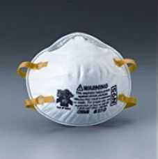 Buy 3M 8210 N95 Health Care Particulate Flu Protection Respirator and Surgical Mask, Pack of 10 from Amazon