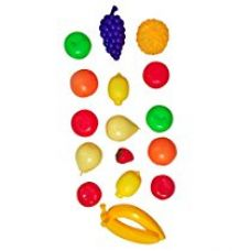 Buy Toyshine Non-toxic Plastic Play Artificial Fruits Pack (Pack of 20) from Amazon