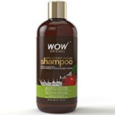 Buy WOW Apple Cider Vinegar Shampoo - 300 mL - No Sulphate - No Parabens - Infused Organic Natural Apple Cider Vinegar from Amazon