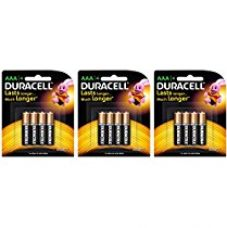 Duracell Alkaline AAA Battery with Duralock Technology - 12 Pieces for Rs. 435