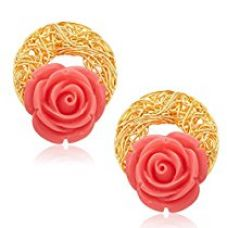 Sukkhi Classic Gold Plated Earrings For Women for Rs. 307