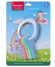 Morisons Baby Dreams Baby Rattle Keys for Rs. 44