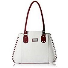 Buy Fantosy Women's Handbag (White & Maroon) (FNB-217-1) from Amazon