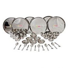 Buy HAZEL Stainless Steel Dinner Set 36 Pcs from Amazon