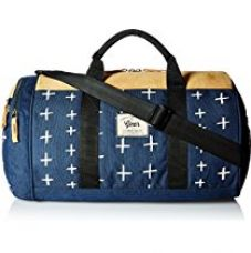 Buy Gear Sport 21 ltrs Navy Blue and Beige Fresher Duffel NO. 1  (DUFFRSHR10522) from Amazon