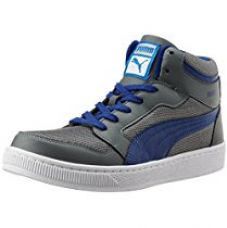 Puma Men's Rebound Mid Lite DP Limestone Grey and Sodalite Blue Sneakers - 8 UK/India (42 EU) for Rs. 2,440