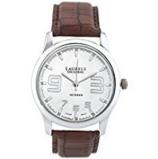 Buy Laurels Veteran Analog Silver Dial Men's Watch - Lo-Vet-202 from Amazon