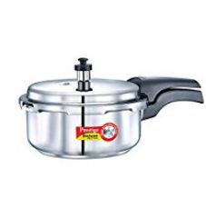 Buy Prestige Deluxe Alpha  Outer Lid Stainless Steel Pressure Cooker, 2 Litres, Silver from Amazon
