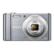 Sony Cybershot DSC-W810/SC 20.1MP Digital Camera With Free Memory card 16GB(Silver) for Rs. 6,750
