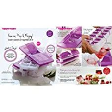 Tupperware Pop Out Plastic Ice Tray Set, Set of 2, Multicolour for Rs. 599