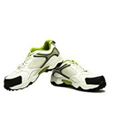 SG Club Rubber Spikes Cricket Shoes, 8 UK /42 EU (Lime/White) for Rs. 1,990