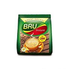 Bru Instant Coffee Refill, 200g Pack for Rs. 299