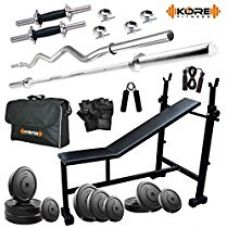 Kore 50KG Combo DD5 Home Gym for Rs. 5,899