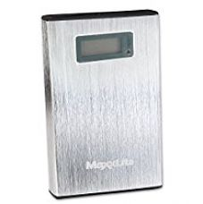 Buy Maxxlite 10000mAh Dual USB with LCD Display Power Bank - Silver from Amazon