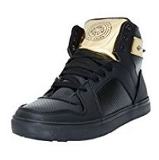 Buy Black Tiger Shoes For Men's Synthetic Leather Casual Shoes and sneakers 8041-G-Black-10 from Amazon
