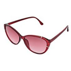 Buy SHVAS UV Protection Cat Eye Womens Sunglasses [CATCALLRED] from Amazon