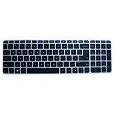 Buy Saco Keyboard Silicon Protector Cover for HP Pavilion 15-ab219TX 15.6-inch Laptop (Black/Clear) from Amazon