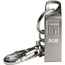 Strontium Ammo 8GB 2.0 USB Pen Drive (Silver) for Rs. 378