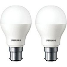 Philips Base B22 2.7-Watt LED Bulb (Warm White and Pack of 2) for Rs. 300