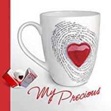 Valentine Special Hot Muggs My Precious Ceramic Mug 350ml, 1 Pc for Rs. 446