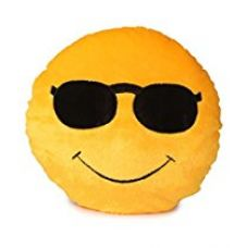 Deals India Soft COOL Dude Smiley Cushion - 35 cm(smiley2) for Rs. 269