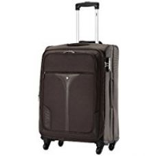 VIP Benz Strolly Exp 4 wheel Nylon Brown Softsided Carry-On (STBENX75BRN) for Rs. 9,990