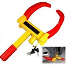 Autofurnish Universal Yellow Anti Theft Car Wheel Tyre Lock Clamp - Nypd Style for Rs. 899