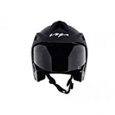Vega Crux Half Face Helmet (Black, M) for Rs. 872