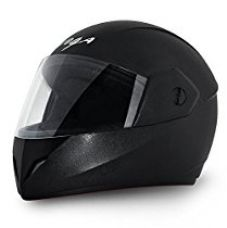 Buy Vega Cliff CLF-LK-M Full Face Helmet (Black, M) from Amazon