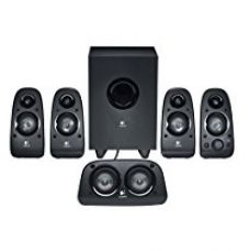Buy Logitech Z506 Surround Sound 5.1 multimedia Speakers (Black) from Amazon