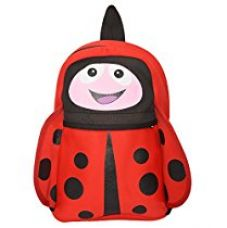 Buy Red lady bug kids school bags for kids (Red) from Amazon