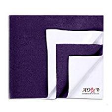 Buy Ador Soft, Waterproof and Reusable Bed Protector Baby Sheet (70cm x 50cm) - Purple, S from Amazon
