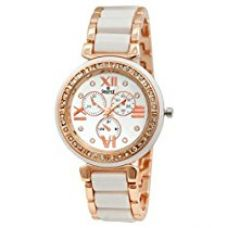 Swisstyle Analogue White Dial Womens Watch-Ss-Lr703-Wht-Ch for Rs. 399