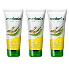 Buy Medimix Ayurvedic Anti Tan Face Wash,100 Ml(Pack of 3) from Amazon
