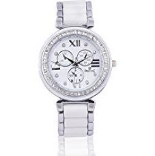 Buy Swisstyle Analog white dial Women's Watch - SS-LR703-WhT-BCH from Amazon