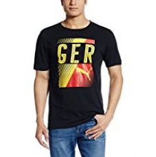 Buy Puma Men's Round Neck T-Shirt from Amazon