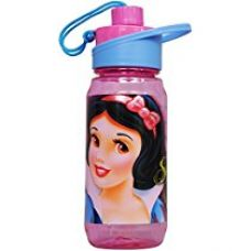Disney Snow White Plastic Sipper Bottle, 550ml, Pink/Blue for Rs. 269