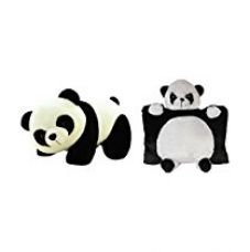 Deals India Panda Pillow And Panda Soft Toy for Rs. 399