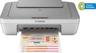 Flat 34% off on Canon PIXMA MG2470 All-in-One Inkjet Printer(Grey, White, Ink Cartridge)