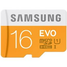 Buy Samsung EVO Class 10 Micro Sdhc Memory Card, 16GB, Without Adapter from Amazon