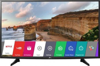 Flat 21% off on LG 108cm (43) Full HD LED Smart TV  (43LH576T)