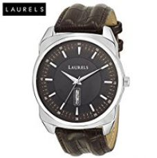 Laurels Analogue Black Dial Men's Watch With Free Strap - Lo-Zd-Ii-020907S for Rs. 599